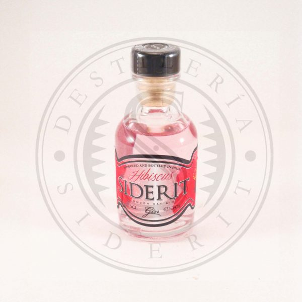 Frasca Gin Siderit hibiscus 5 cl