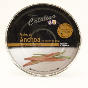 Pandereta de anchoas Catalina 250 grs