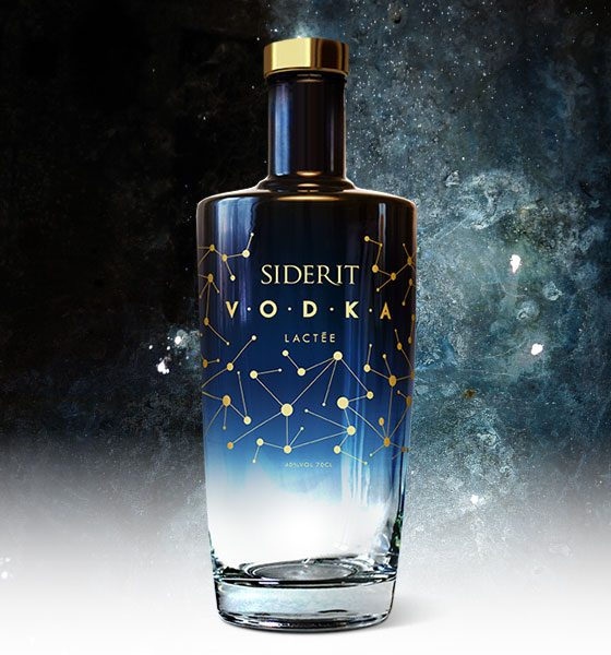 Vodka Siderit 70 cl