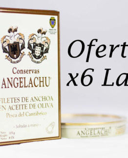 Pack 6 Latas de anchoa doble 00